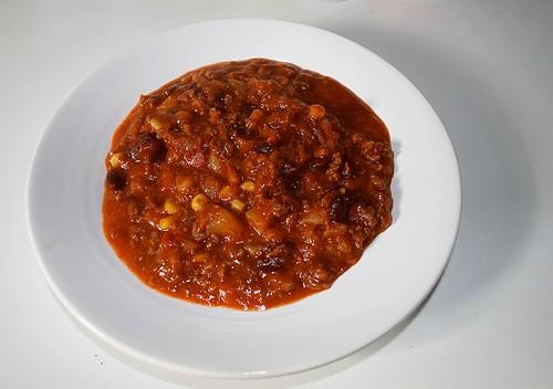 Rewe Chili con Carne - Verzehrfertig auf Teller