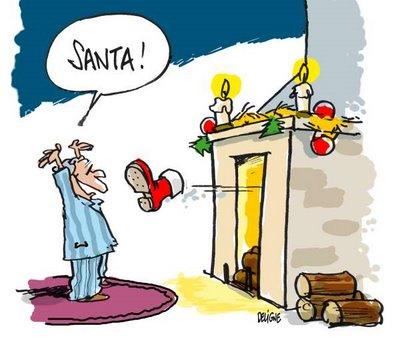 Calendar of Disturbingg Santas