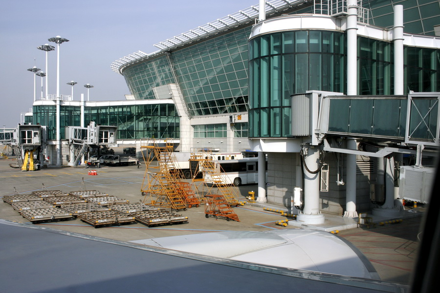 Incheon Int'l Airport otside