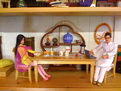 Shahrukh and Anushka in RNBDJ (an SRK doll tribute) (Breaking Free of the Box) Tags: miniature doll dolls bollywood khan shahrukhkhan shahrukh srk suri surinder taani bollywoodlegendsdoll anushkasharma breakingfreeofbox breakingfreeofthebox