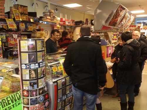 Buying New Year Fireworks in Norway