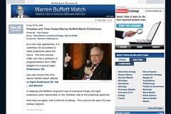Timeless and Time-Tested Warren Buffett Watch Predictions - Warren Buffett Watch - CNBC.com_1230861286500