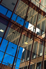 intersection (Mark Z.) Tags: buildings westbank minneapolis uofm twincities