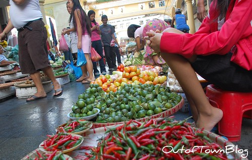 Quiapo vegetables and spices