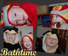 bathtime collage (tracy_bounds) Tags: boys towels bathtime funpicnik