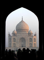 Taj Mahal through the Main Gateway