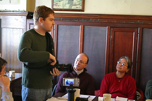 Adam Weiss presents BlackRapid Camera Strap at Boston Media Makers 010409