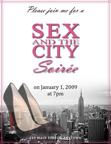 InvitationSexAndTheCity