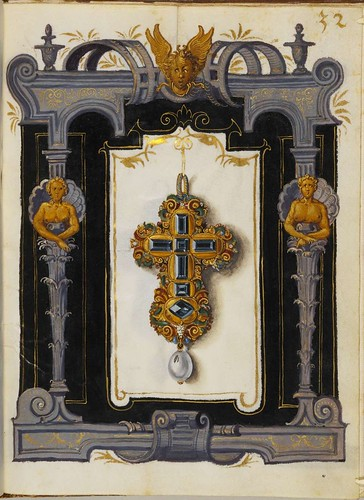 Jewel Book of the Duchess Anna of Bavaria (1550s) n
