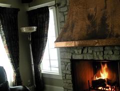 fireside in Lawrence