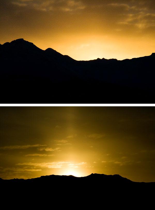 Chugach sunrise