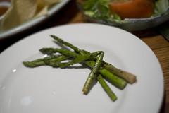 Oak Grilled Asparagus