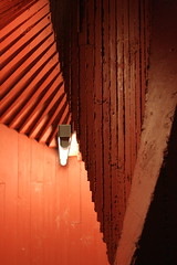 Espiral (olarreaga) Tags: red stairs finland spiral concrete rojo turku library biblioteca espiral escaleras finlandia hormign portaat jkmm