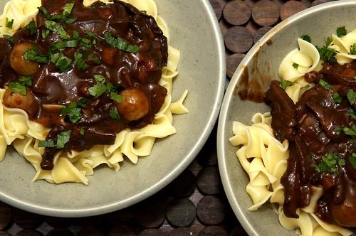 'Smitten Kitchen's Mushroom Bourguignon Recipe — Dishmaps