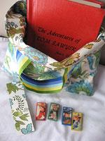 a.a. milne's biirthday<p>Tom Sawyer Bag of Reading Goodies