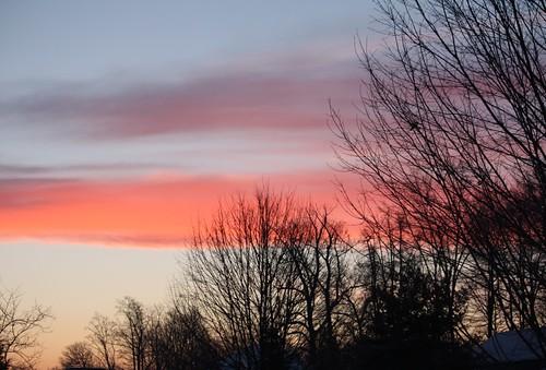 sunrise in Akron OHio