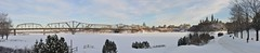 Alexandra Bridge and Parliament Hill pano (aylmerqc) Tags: winter panorama snow river frozen stitched parliamenthill ottawariver chateaulaurier nationalgalleryofcanada royalcanadianmint alexandrabridge libraryofparliament ottawaontario interprovincialbridge rivièredesoutaouais gatineauquebec