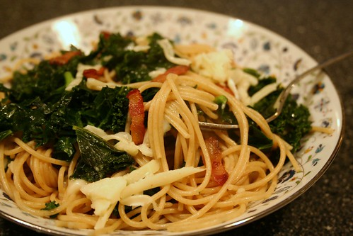 Wheat Pasta with Kale