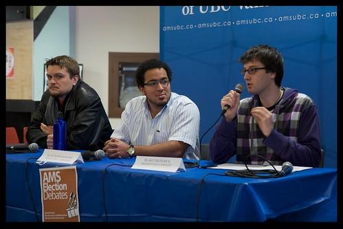 AMS Electoral Debates, January 26
