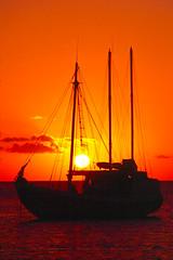 Tyrrel Bay Sunset (islandfella) Tags: sunset west silhouette boats caribbean grenadines 1001nights indies enjoylife carriacou eyecatchers encarnado supershot laclassenonacqua abigfave omot aplusphoto flickraward tyrrelbay harveyvale
