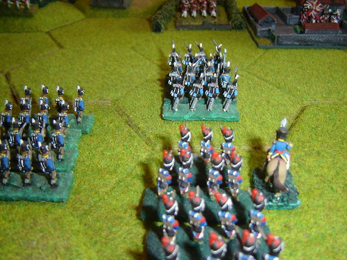 Lobau leads attack on le Haye Sainte