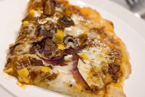 Cooked Lamb Pizza Slice 1