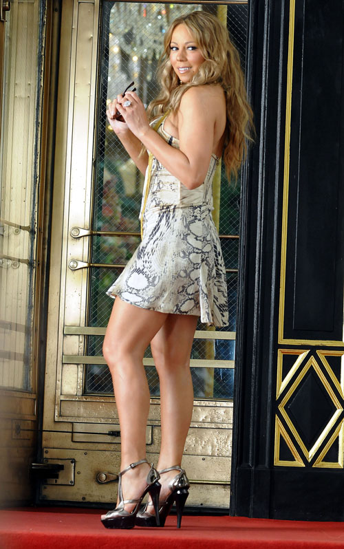 Mariah Carey Filming Music Video In New York City