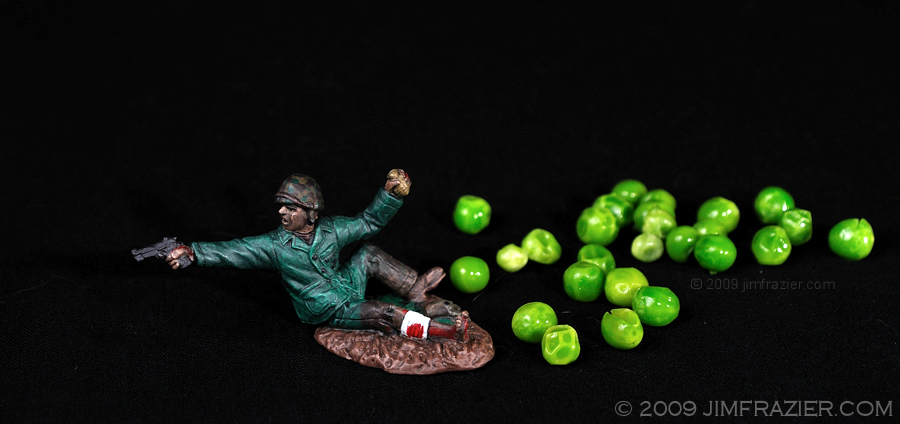 Fighting for Peas