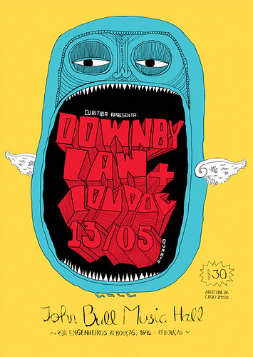 Awesome Brazilian Gig Poster