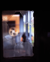 Broken windows (khai_nomore) Tags: slr 120 film mediumformat trains scanned slides milf e6 transparencies rm wideopen biggun pentax67 portklang fujifilmprovia100f 2400dpi bokehlicious canonscan8400f autaut filmforever pentaxsmc105mmf24 jlnkastam