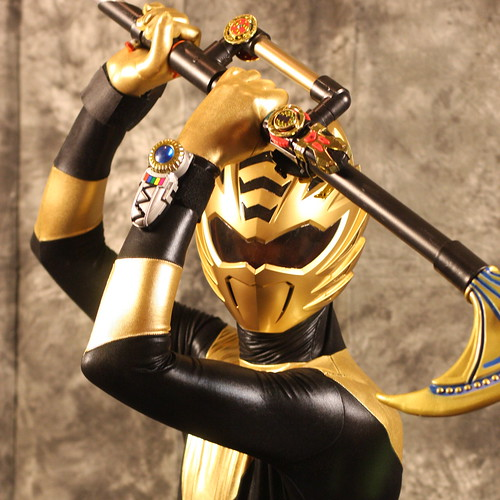 Saboten-Con Saturday Portraits - Gold Ranger from Power Rangers