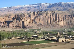 Bouda (Ahmad_Mandegar) Tags: mountain afghanistan temple nice view  bamiyan bouda     bamyan bamian