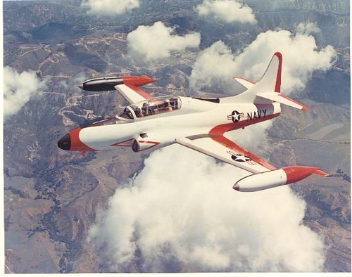 Lockheed : T2V-1 (T-1A) : Seastar