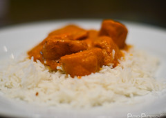 Day 126 : Chicken Tikka Masala (wiseyoda) Tags: food 50mm iso200 bokeh depthoffield 365 pictureaday shallowdof project365 patrickpatterson 1250secatf14 nikond7000 mygearandme wiseyoda