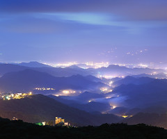 () Tags: fog night sunrise taiwan