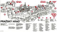 Prague Castle Map (mudsharkalex) Tags: prague map praha pražskýhrad czechrepublic hradcany hradčany praguecastle prazskyhrad praha1