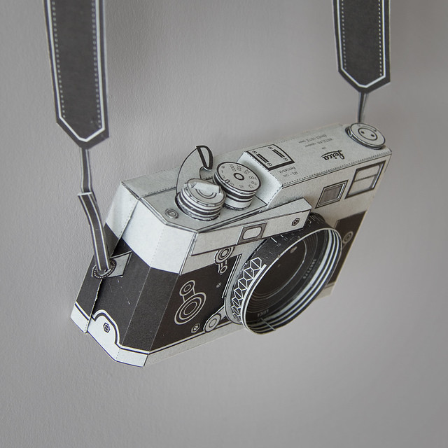 Paper Pinhole Leica M3
