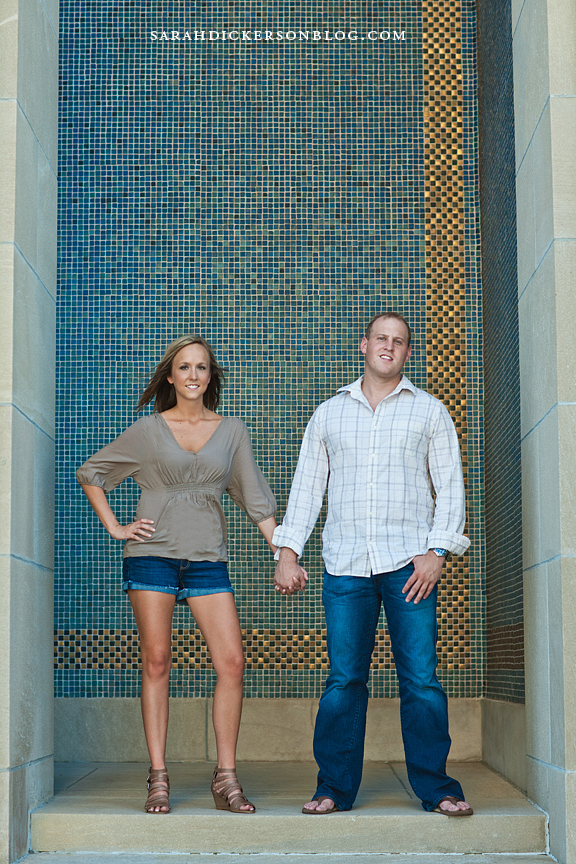 Kansas City Liberty Memorial engagement photographer