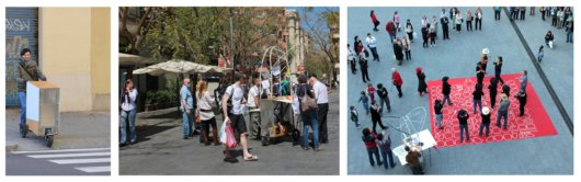 "Public Space and Participation in Plaza Fort Pienc: The Beginnings of ""El Carrito"""