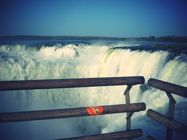 Gorilla Sticker Sighting #0134 - Iguazu Falls