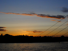 Sunset (Alexandra Raluca Stefanescu) Tags: sunset dusseldorf