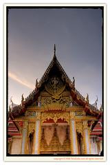 HDR : Wat Chalong (Tenztudio.com) Tags: thailand temple phuket wat canoneos350d hdr chalong ef2470f28l tenztudio