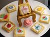 Framed Art Cookies (nikkicookiebaker) Tags: decorated