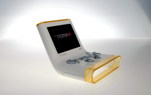 MOMA Mobile Gaming Console (Side View) by viagallery.com