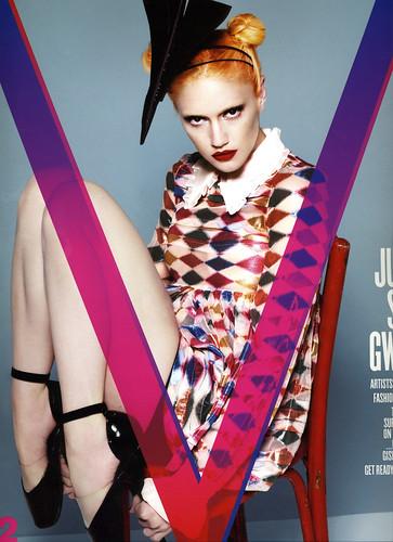 Gwen in V magazine