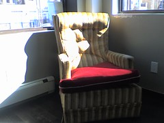Chair at Ideal coffee