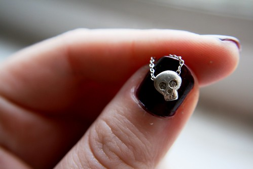 babyskull necklace