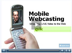 Mobile Webcasting