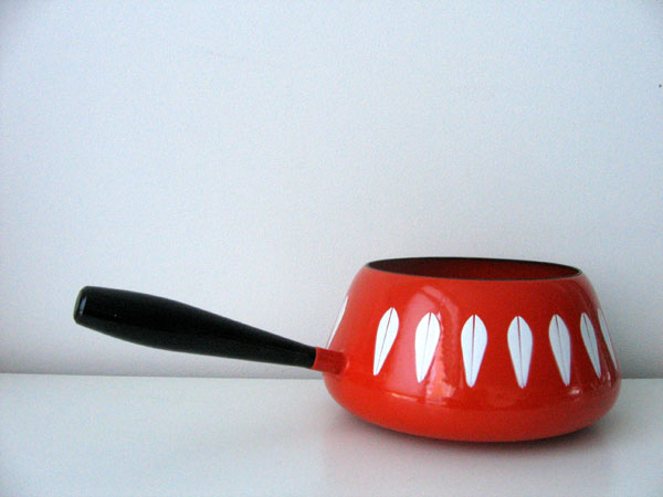 thrifted: catherine holm fondue pot