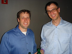 Michael and John at SearchBash